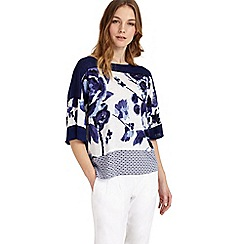 Phase Eight - Mollie mix print knit