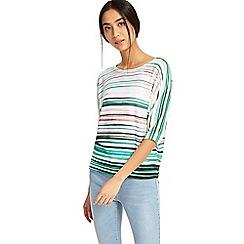 Phase Eight - Gwyn stripe print knit