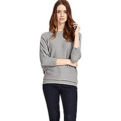Phase Eight - Grey marl becca batwing jumper