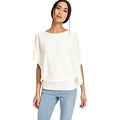 Phase Eight - White bionda blouson knitted jumper