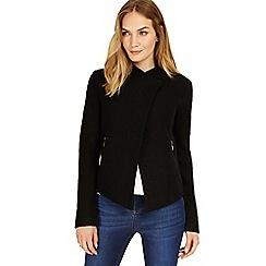 Phase Eight - Black Rosanna zip jacket