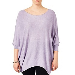Studio 8 - Sizes 16-24 Lavender beth batwing jumper