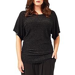 Studio 8 - Sizes 16-24 Black lucille jumper