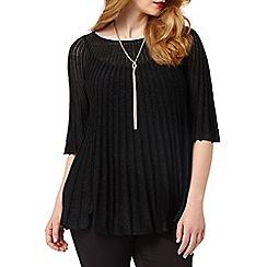 Studio 8 - Sizes 16-24 Black vanessa jumper