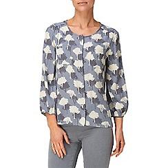 Phase Eight - Mist elveden print blouse