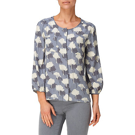 Phase Eight - Mist elveden print blouse