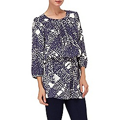 Phase Eight - Nordic Blue and White yvonne tunic