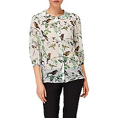 Phase Eight - Dusty Jade emmie bird blouse