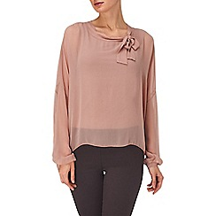 Phase Eight - Dusty Pink adriana silk blouse