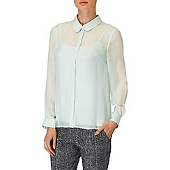 Phase Eight - Menthe chiara silk blouse