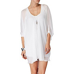 Phase Eight - White tope longline tunic