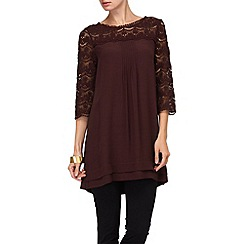 Phase Eight - Wine hester tunic