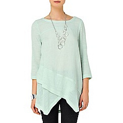 Phase Eight - Menthe Ava Linen Top