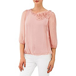 Phase Eight - Pale Pink rose blouse
