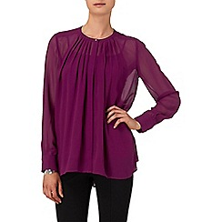 Phase Eight - Damson normandie blouse