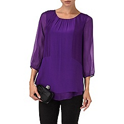 Phase Eight - Violet berenice silk blouse