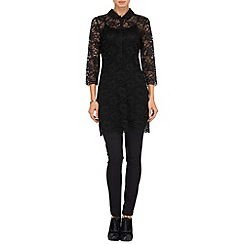 Phase Eight - Black annalise lace tunic