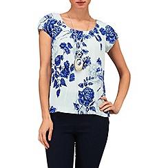 Phase Eight - Mint samara floral blouse