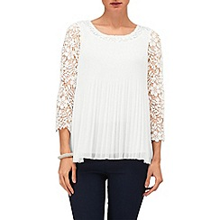 Phase Eight - Ruth Pleat and Crochet Lace Blouse