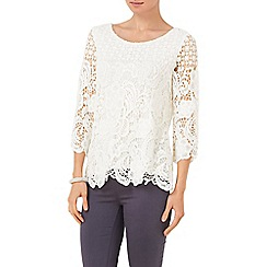 Phase Eight - Shelley Crochet Lace Blouse