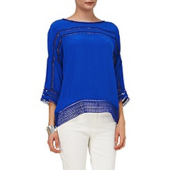 Phase Eight - Maude crepe cutwork blouse