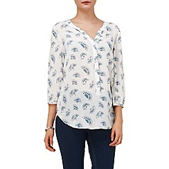 Phase Eight - Fan print blouse
