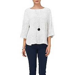 Phase Eight - Anna heart print blouse
