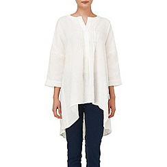 Phase Eight - Lamorna oversized linen shirt