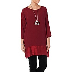 Phase Eight - Amalia silk and crepe tunic