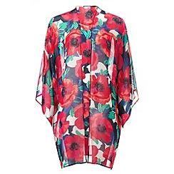 Phase Eight - Riviera Print Longline Kimono