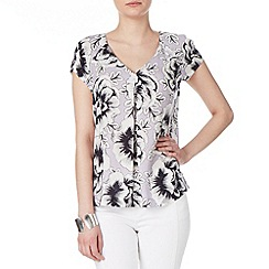 Phase Eight - Pale Lilac marianne floral blouse