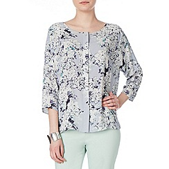 Phase Eight - Grey Multi laurie print blouse