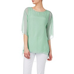 Phase Eight - Angel sleeve silk blouse