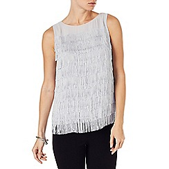 Phase Eight - Cici fringe top