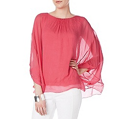 Phase Eight - Mimosa oversized silk blouse