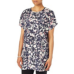 Phase Eight - Blue marble print tunic