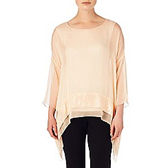Phase Eight - Magnolia pru silk sequin hem blouse