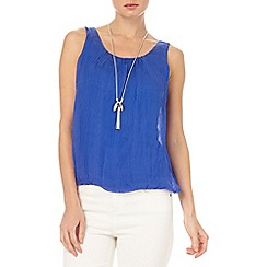Phase Eight - Lua sleeveless silk blouse