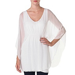 Phase Eight - White dolphina tunic