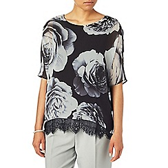 Phase Eight - Robyn rose print blouse