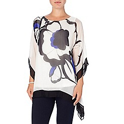 Phase Eight - Neva oversized silk blouse