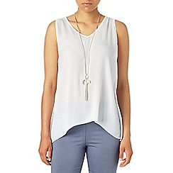 Phase Eight - White gemma v-neck top