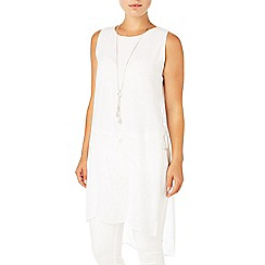 Phase Eight - White clara tabard tunic