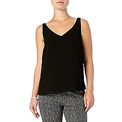 Phase Eight - Black lydia woven cami