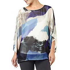 Phase Eight - Blue Fabienne Silk Blouse