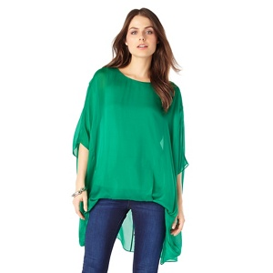 Phase Eight Layla oversized silk blouse