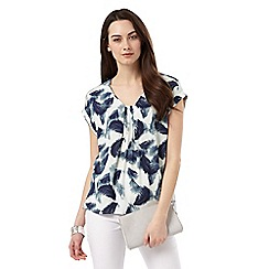 Phase Eight - Erin Feather Print Blouse