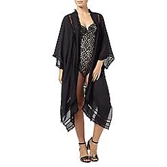 Phase Eight - Black paola tassel kimono