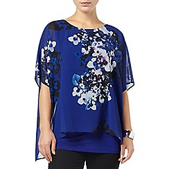 Phase Eight - Blue and Multi sadie floral blouse
