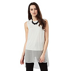 Phase Eight - Clara Silk Necklace Trim Blouse